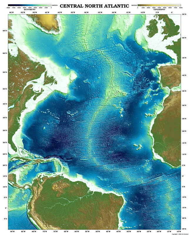 Degree Of The Ocean And Efficient N: How Much Did Maps Have To Be Altered Once Satellites Began
